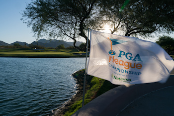 SCOTTSDALE, AZ - OCTOBER 11: Signage during a practice round for the 2019 PGA Jr. League Championship presented by National Car Rental held at the Grayhawk Golf Club on October 11, 2019 in Scottsdale, Arizona. (Photo by Darren Carroll/PGA of America)